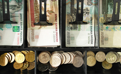 Снять наличные деньги в кафе
