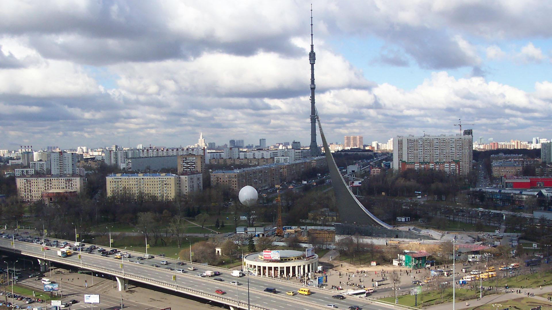 Москва Россия телебашня останкино онлайн